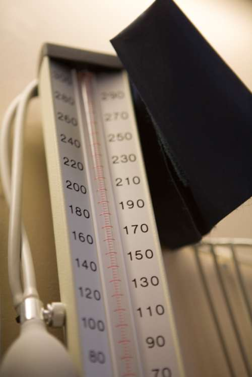 Blutdruck Geschichte historisches Blutdruckmessger�t