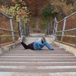 Sturzrisiko steile Treppen